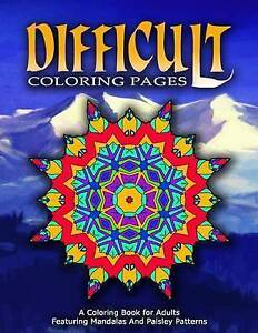 Difficult Coloring Pages - Vol6 Coloring Pages for Girls by Coloring Pages for G