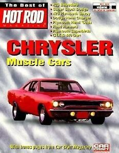 Chrysler-Muscle-Cars-Vol-8-by-Hot-Rod-Magazine-Staff-1999-Paperback