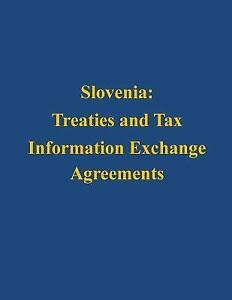 Image Is Loading Slovenia Treaties And Tax Information Exchange Agreements  By