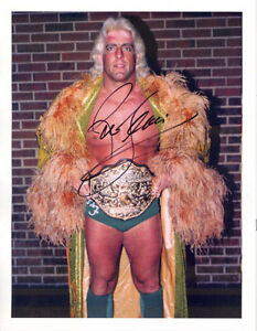 Autographed-Ric-Flair-Photo-Wrestling-WWE-WWF-WCW-NWA-Nature-Boy-Signed-6
