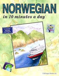 Norwegian in 10 Minutes a Day (10 Minutes a Day Series)-ExLibrary