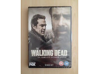 The Walking Dead Season 7 DVD Chistmas Gift New in Box