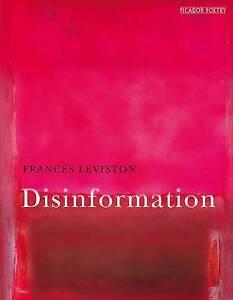 Disinformation-by-Frances-Leviston-Paperback-2015