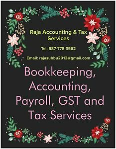 Bookkeeping, Accounting, Payroll, GST and Tax Services