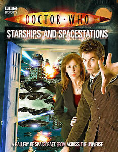 Doctor-Who-Starships-and-Spacestations-Justin-Richards-Very-Good-9781846074233