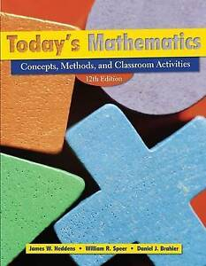 Today′s Mathematics, James W. Heddens