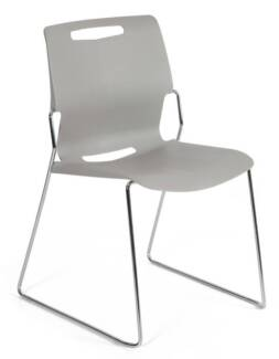 Castel Stacking Chairs + Trolley