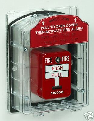 Fire Alarm Pull Station Cover Modular Has Options For Horn Wp Sti-1200 1100