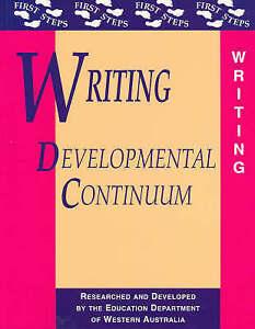 Writing Developmental Continuum (First Steps)-ExLibrary