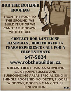 R.T.B. RENOS / ROB THE BUILDER