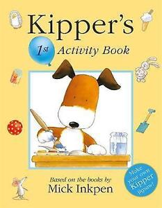 Kipper-Activity-Book-1-by-Mick-Inkpen-Paperback-2004