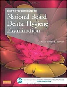 Mosby's Review Questions for the National Board Dental Hygiene Examination 1st Pap/Psc Edition