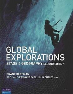 Global Explorations Stage 4 Geography, Grant Kleeman With CD