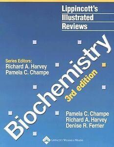 Biochemistry Lippincott 39 S Illustrated Reviews Series