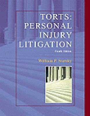 Torts Personal Injury Litigation, Statsky, William P., Good Book 1