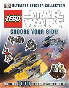 NEW Lego Star Wars Ultimate Sticker Collection Choose Your Side! 1000+ Stickers