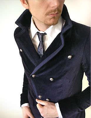 Velvet pea coat
