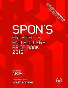 Spon-039-s-Architect-039-s-and-Builders-039-Price-Book-2016-Spon-039-s-Price-Books-ExLibrary