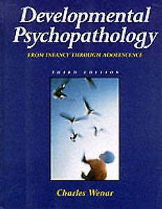 Developmental Psychopathology-ExLibrary