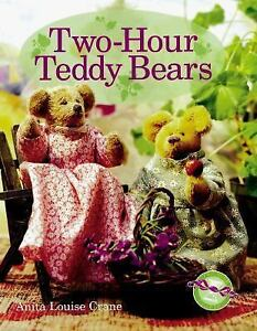 Two-Hour-Teddy-Bears-by-Anita-Louise-Crane-1999-Hardcover