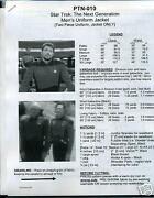 Star Trek Next Generation Uniform