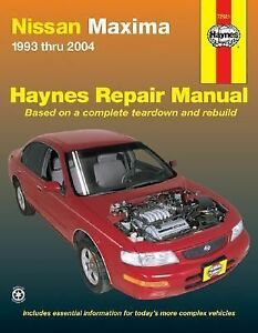 Nissan-Maxima-Automotive-Repair-Manual-1993-Thru-2004-by-John-Harold-Haynes