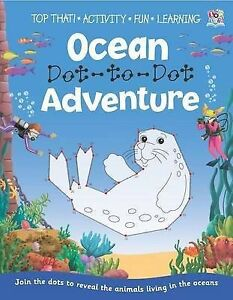 Dot to Dot book - Ocean Dot-to-Dot Adventure