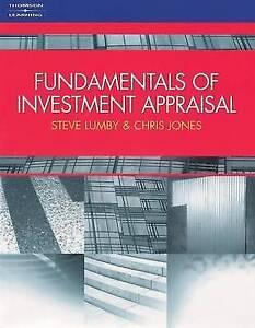 The Fundamentals of Investment Appraisal, Lumby, Steve & Jones, Chris, Used; Goo