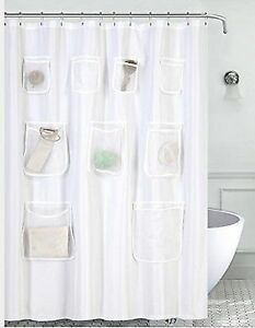 Buy Water Repellent Mildew Resistant Fabric Shower Curtain Or Liner