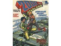 2000 AD PROG 104. 1979 British Comic ORIGINAL. Features STRONTIUM DOG cover.