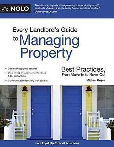 Every Landlord's Guide Managing Property Best Practices by Boyer Michael