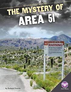 Mystery of Area 51 by Krasner, Barbara -Hcover