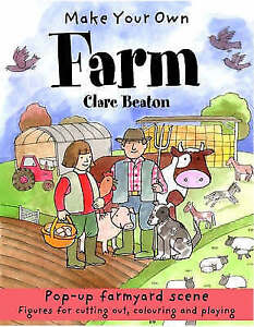 New, Make Your Own Farm (Make Your Own), Clare Beaton, Book