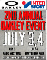 Awesome Oakley Event in Hinton!