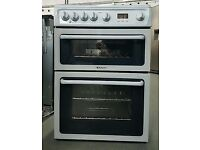 HOTPOINT HAG60P GAS COOKER