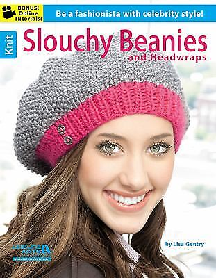 Knit Slouchy Beanies & Headwraps By Leisure Arts