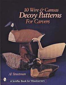 10-Wire-And-Canvas-Decoy-Patterns-for-Carvers-Schiffer-Book-for-Woodcarvers-b