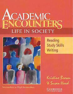Academic Encounters Life in Society, Hood, Susan, Brown, Kristine, Very Good con