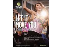 Zumba Every Monday 6.30PM-7.30PM Regency Hall Saundersfoot. £4.00