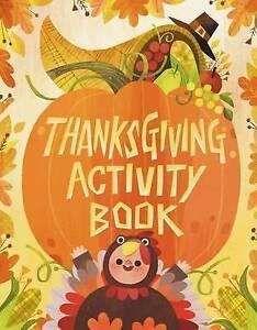 Thanksgiving Activity Book by Jones, Karl -Paperback