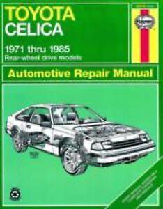Haynes-Manuals-Toyota-Celica-1971-1985-by-S-Cumbaa-and-John-Haynes-1986