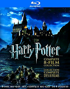 HARRY POTTER Blu Ray 8 disc collection
