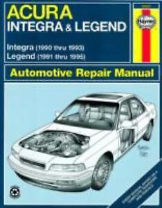 Haynes-Acura-Integra-1990-Thru-1993-by-John-Harold-Haynes-Larry-Warren-and