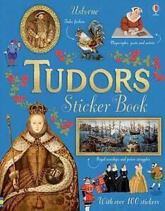 Tudors Sticker Book Paperback