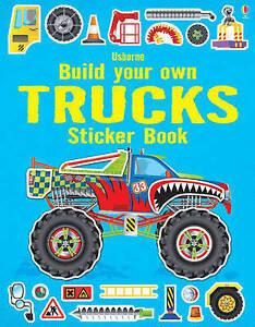 Build Your Own Trucks Sticker Book ' Shirley, John