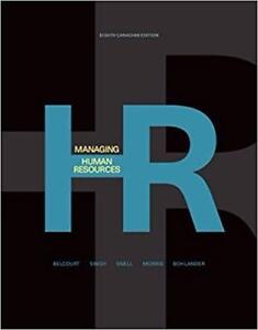 Managing Human Resources 8th Edition