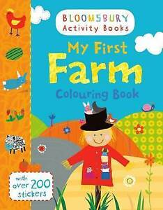 My First Farm Colouring Book  BOOK NEW