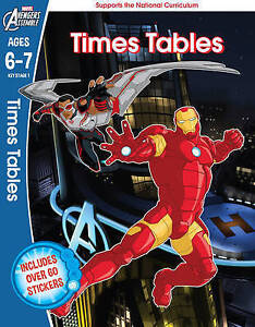 The-Avengers-Times-Tables-Ages-6-7-by-Scholastic-Paperback-2016