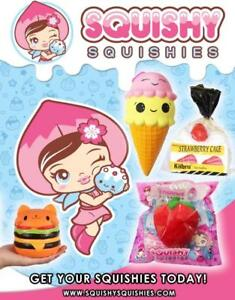 Squishy Squishies, Slow rising Squishies. Kiibru, Areedy Kawaii toys from Canada's squishy shop Squishy Squishies!!!