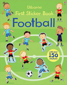 First Sticker Book: Football Paperback Usborne 9781409564645